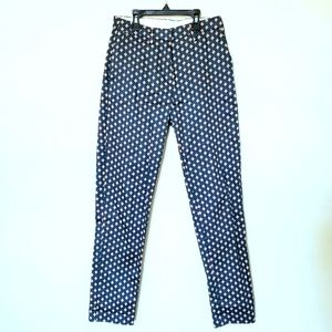H&M Women's Diamond Geometric Print Dress Pants
